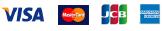 VISA, MasterCard, JCB, AMERICAN EXPRESS